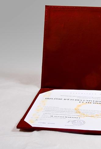 Accessoires pour cérémonie de remise de diplôme