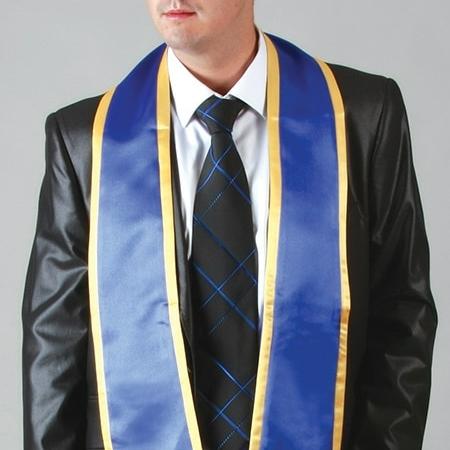 Echarpe de diplômé bicolore